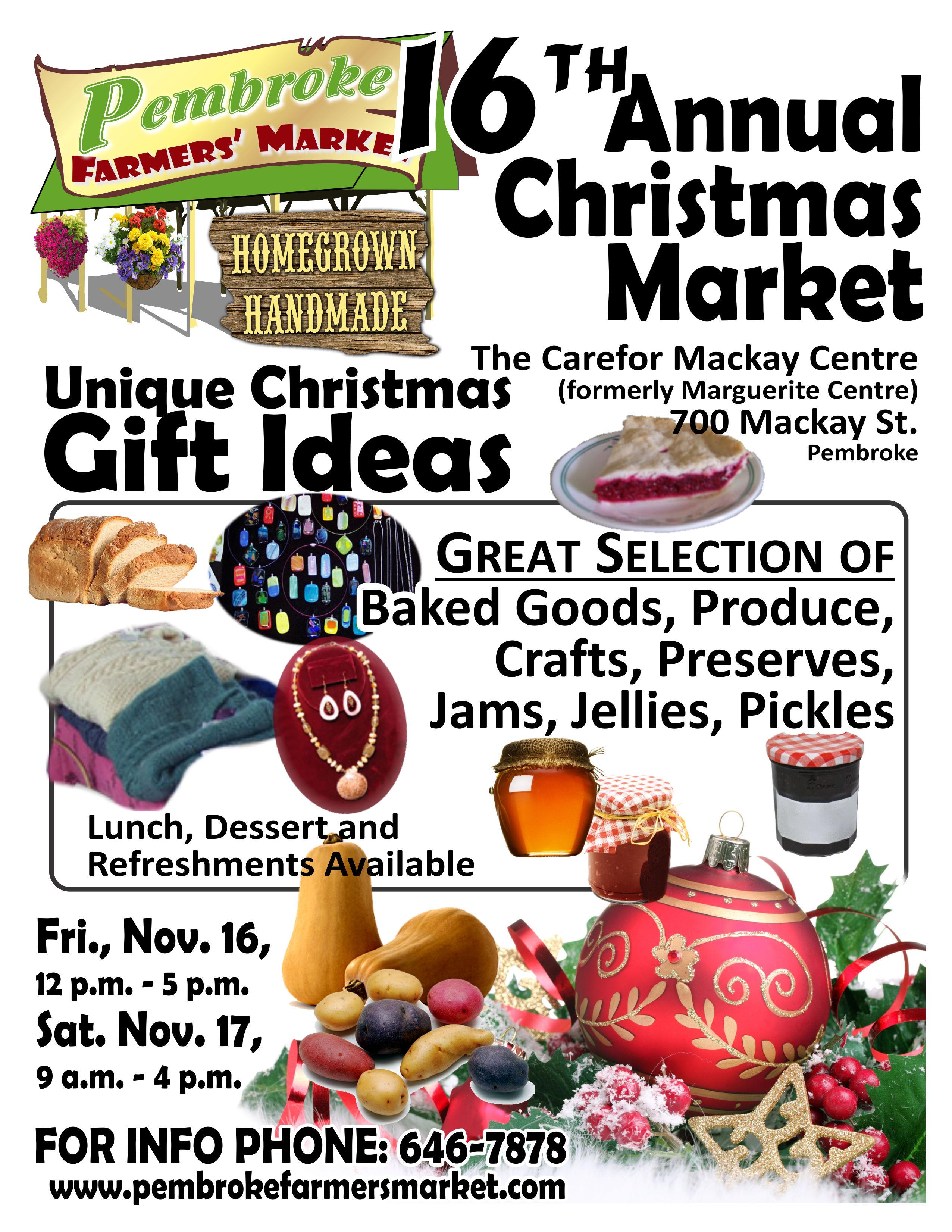 Unique Christmas Gift Ideas – Pembroke Farmers\' Market